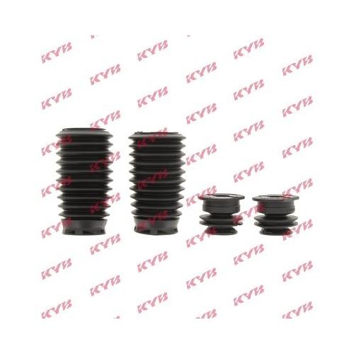 Set burduf protectie amortizor Kyb 910080, parte montare : punte fata