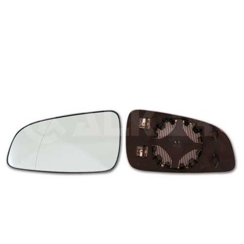 Geam oglinda, sticla oglinda Opel Astra H (L48), Alkar 6471438, parte montare : Stanga