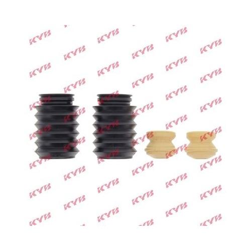 Set burduf protectie amortizor Kyb 910121, parte montare : punte fata