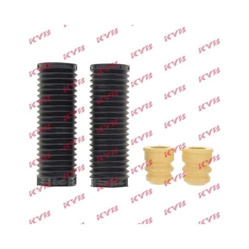 Set burduf protectie amortizor Kyb 910128, parte montare : punte fata