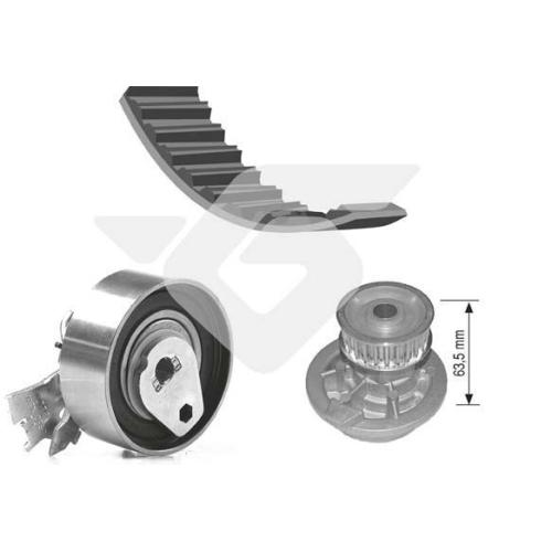 Kit distributie + pompa apa Hutchinson KH98WP21