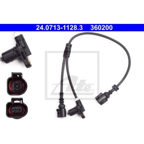 Senzor ABS Ate 24071311283, parte montare : Punte fata, Stanga
