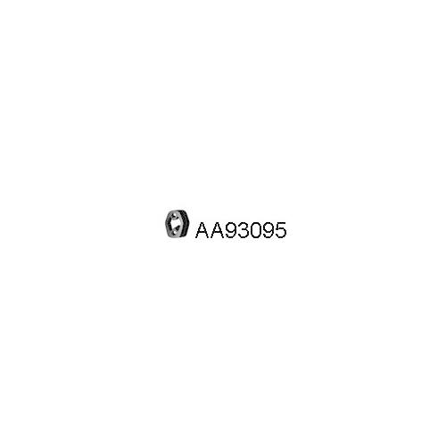 Tampon fixare toba esapament Veneporte AA93095