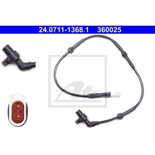 Senzor ABS Ate 24071113681, parte montare : Punte fata