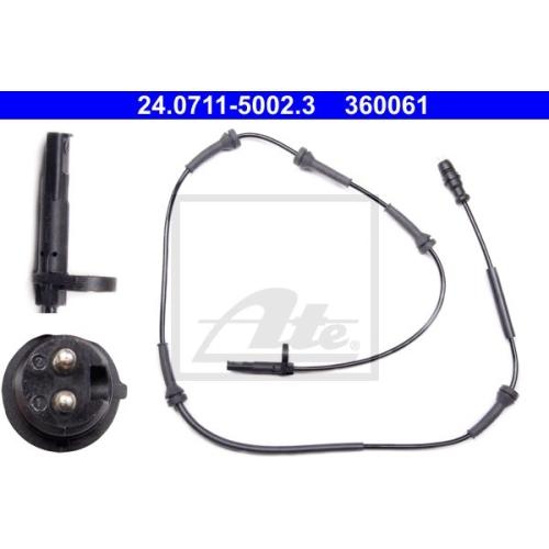 Senzor ABS Ate 24071150023, parte montare : Punte fata