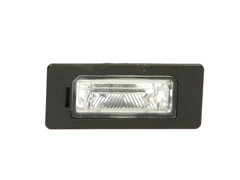Lampa numar Tyc 150217009, parte montare : Stanga/ Dreapta