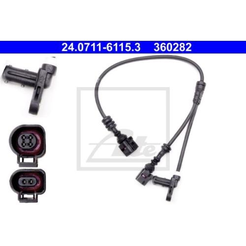 Senzor ABS Ate 24071161153, parte montare : Punte fata