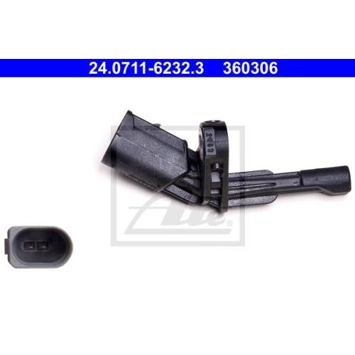 Senzor ABS Ate 24071162323, parte montare : Punte spate, Dreapta