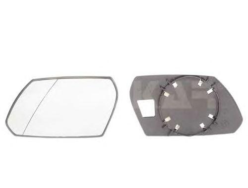 Geam oglinda, sticla oglinda Ford Mondeo 3 (B5y), Alkar 6451377, parte montare : Stanga