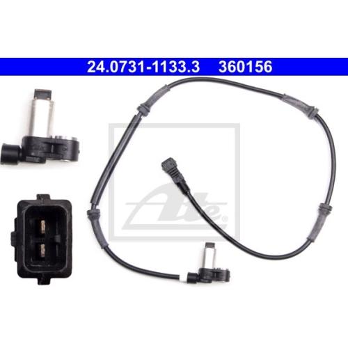 Senzor ABS Ate 24073111333, parte montare : Punte fata