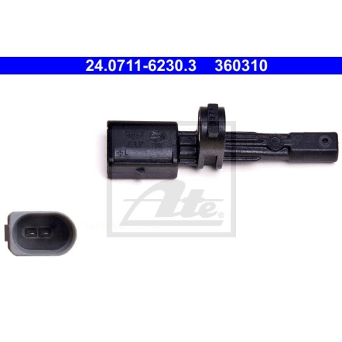 Senzor ABS Ate 24071162303, parte montare : Punte spate