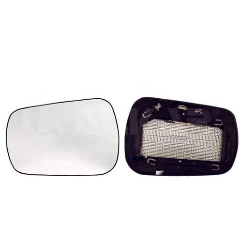 Geam oglinda, sticla oglinda Ford Fiesta 5 (Jh , Jd), Fusion (Ju), Alkar 6471387, parte montare : Stanga