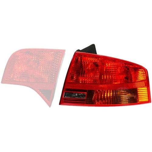 Lampa stop Audi A4 (8ec, B7), Hella 2VP965037051, parte montare : Stanga