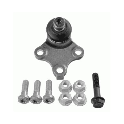 Pivot rotula Citroen Berlingo (Mf), Xsara (N1/ N2); Peugeot Partner (5f) Lemförder 2553402, parte montare : punte fata, stanga, dreapta, inferior