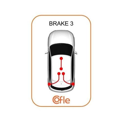 Cablu frana mana Mercedes-Benz A-Class (W168) Cofle 109323, parte montare : stanga, spate