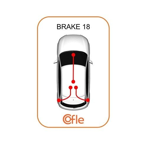Cablu frana mana Mercedes-Benz Sprinter (901, 902, 903, 904) Cofle 109874, parte montare : stanga, dreapta, spate