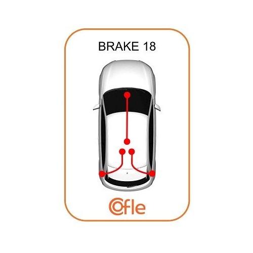 Cablu frana mana Mercedes-Benz Sprinter (901, 902, 903, 904, 906); Vw Lt 28 2 Cofle 109875, parte montare : stanga, spate