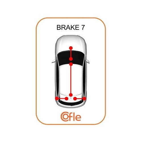Cablu frana mana Nissan Primastar (X83); Opel Vivaro (J7); Renault Trafic 2 (Jl) Cofle 116801, parte montare : fata