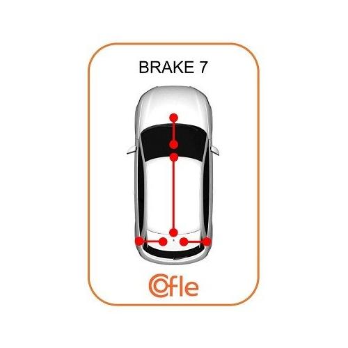 Cablu frana mana Nissan Primastar (X83); Opel Vivaro (J7); Renault Trafic 2 (Jl) Cofle 116804, parte montare : stanga, spate