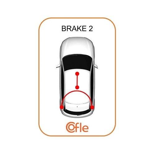 Cablu frana mana Chevrolet Corsa; Opel Astra G (F48, F08), Zafira A (F75) Cofle 115859, parte montare : spate