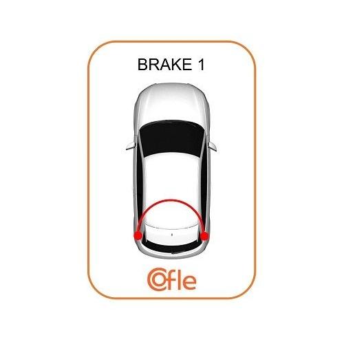 Cablu frana mana Chevrolet Matiz (M200, M250), Spark; Daewoo Matiz (Klya) Cofle 173501, parte montare : spate