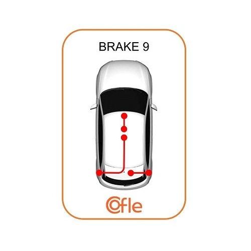 Cablu frana mana Citroen Jumpy; Fiat Scudo (272, 270); Peugeot 807 (E), Expert Tepee (Vf3v) Cofle 104737, parte montare : stanga, dreapta, spate