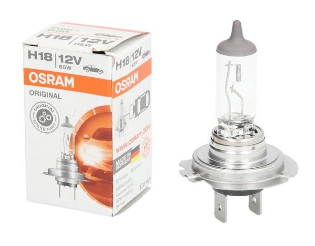 Bec auto OSRAM H18 12V; 65W; original; PY26d-1; 64180L; 1 buc.