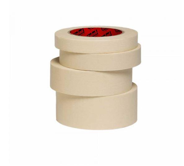 Banda mascare hartie Colad Premium, rezista pana la 80 °C, culoare alb, lungime 50 metri, latime 38mm, 1 buc.