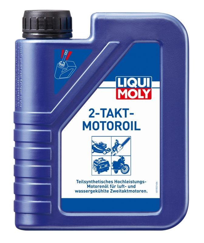 Ulei motor Liqui Moly Takt - Motoroil 2T , ulei universal sintetic 2 timpi, pentru drujbe, masini taiat iarba, motociclete, API TC Liqui Moly 1L
