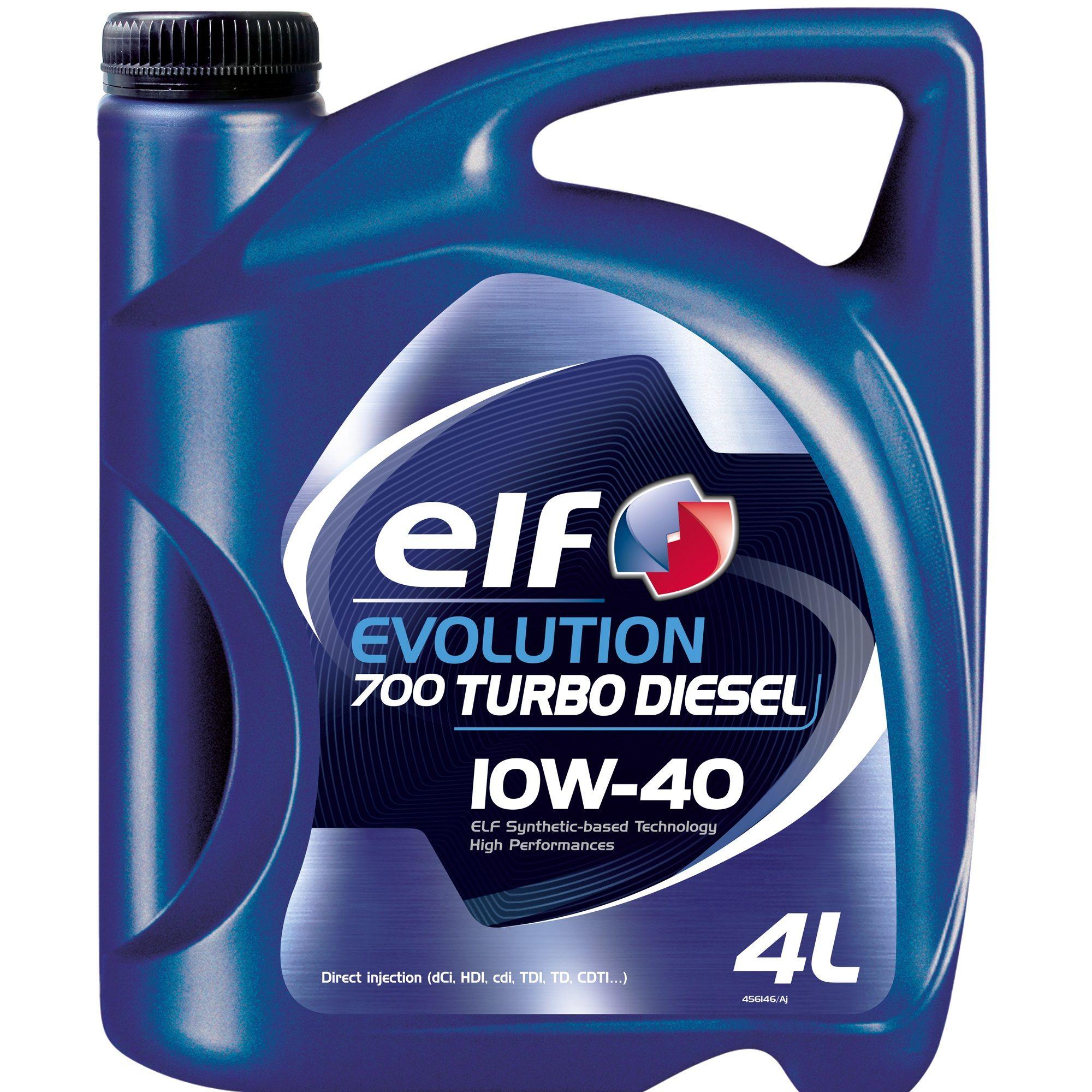 Ulei motor Elf Evolution 700 TURBO DIESEL 10W40 4Litri