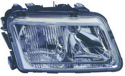Far Audi A3 01.1996-12.1999 DJ AUTO fata dreapta tip bec H1+H7