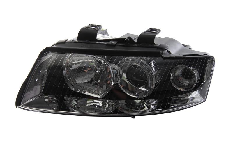 Far Audi A4 (B6), 12.2002-1120.04, electric, tip bec D1S+H7 LED, fara bec de descarcare ; fara balast ; cu motor, omologare ECE, Stanga