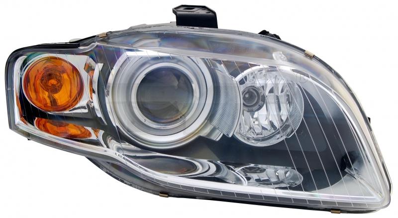 Far Audi A4 (B7) 11.2004-09.2006 AL Automotive lighting fata stanga tip bec H7+H7, semnalizare portocalie