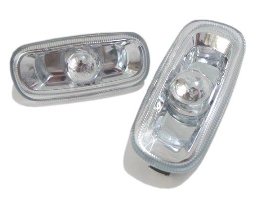 Lampa semnalizare aripa Audi A3 05.2003-04.2008 / A4 (B6/B7) 11.2000-03.2008, A6 (C5/C6) 2001-2011 DJ AUTO partea Dreapta/ Stanga, transparent, fara suprot bec, 1buc.
