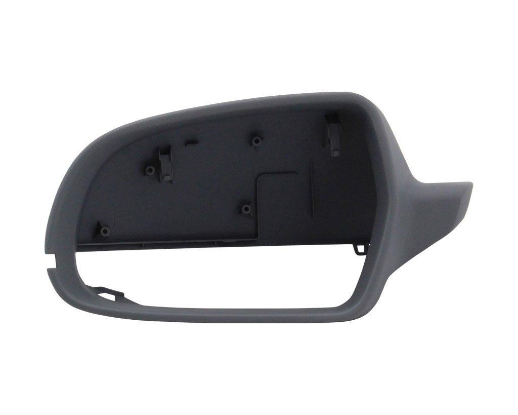 Carcasa oglinda exterioara A3 (8P), 2010-10.12 ; Audi A4/S4 (B8) 2010-2016, A5/S5 (B8) 2010-2016 partea stanga View Max Carcasa cu primer, cu gaura semnalizare, cu gaura unghi mort control
