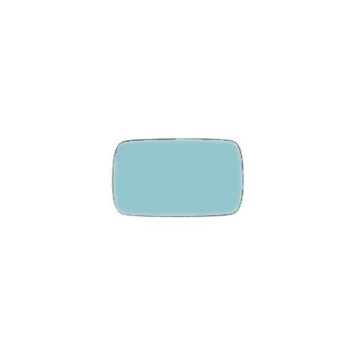 Geam oglinda Bmw Seria 3 (E36), 12.1990-03.2000, Seria 5 (E34), 12.1992-06.1996, partea Dreapta, culoare sticla culoare albastra, sticla convexa