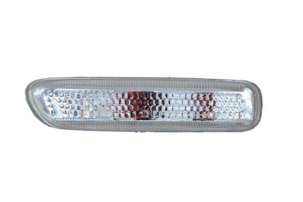 Lampa semnalizare aripa Bmw Seria 3 (E46) Sedan/Combi 06.1998-09.2001 Seria 3 (E46) COUPE/CABRIO 05.1999-03.2003 Seria 3 (E46/5) COMPACT 03.2000-12.2004 DJ AUTO partea Dreapta alba fara suport bec