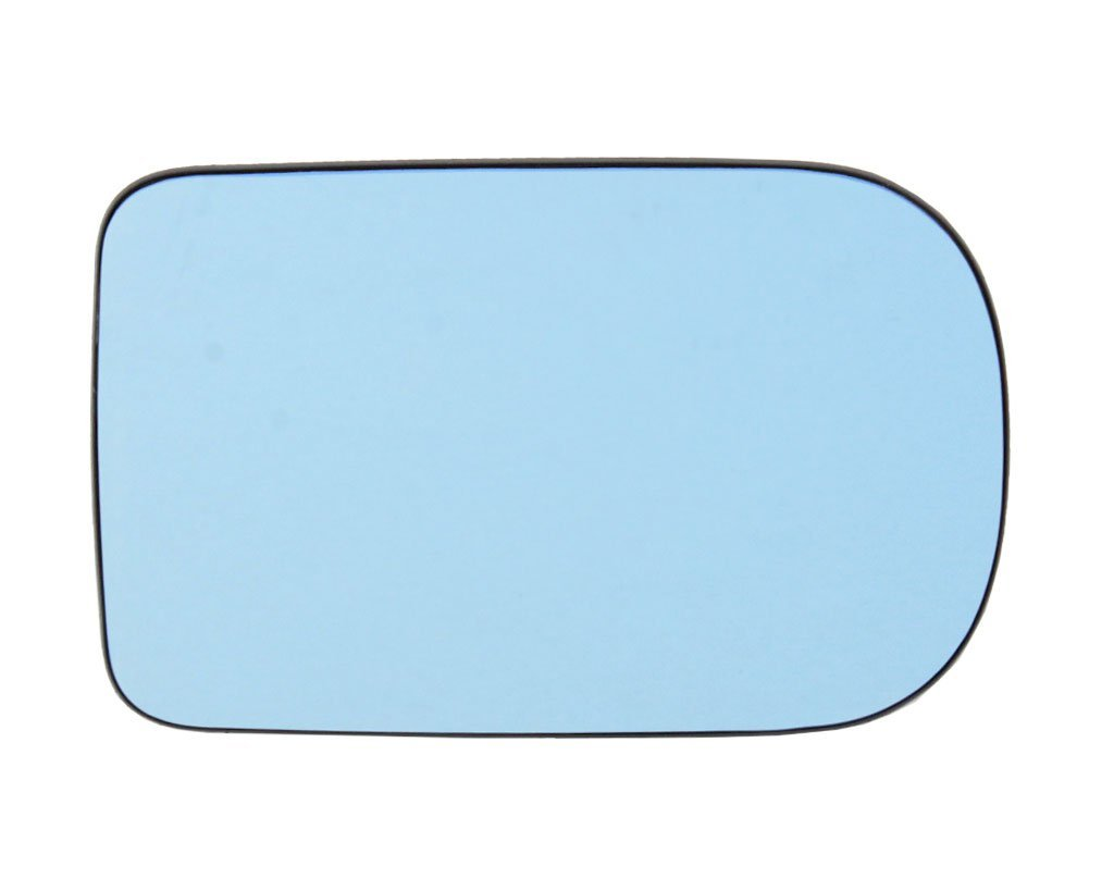 Geam oglinda Bmw Seria 5 (E39) 10.1997-06.2004, Seria 7 (E38), 04.94-12.01 partea stanga View Max Albastra Flat Cu incalzire, 166x105mm