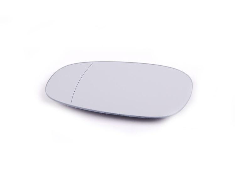 Geam oglinda Bmw Seria 3 (E90, E91) 08.2008- 06.2012 , Seria 1 (E81,E82,E87,E88) 2009-10.2013 partea stanga Albastra Asferica Cu incalzire
