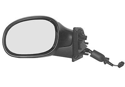 Oglinda exterioara Citroen C3 (Fc) 01.2002-12.2010 partea stanga View Max crom convex carcasa prevopsita grunduita reglare electrica cu incalzire