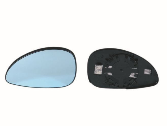 Geam oglinda Citroen C4 (La/Lc) 10.2004-12.2010 partea stanga View Max crom convex cu incalzire