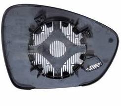 Geam oglinda Citroen C3, 03.10-, DS3, 03.10-, DS5, 09.11-, Citroen C5 (Rd/Td), 01.2008-, Peugeot 508, 11.10-12.14, Dreapta, Albastra, Convex
