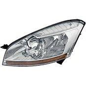 Far Citroen C4 (B7), 09.2010-, Citroen Ds4, 06.2011-, Electric, tip bec H1+H7, cu motoras, omologare ECE, cu lumini de zi, Stanga, marca Depo