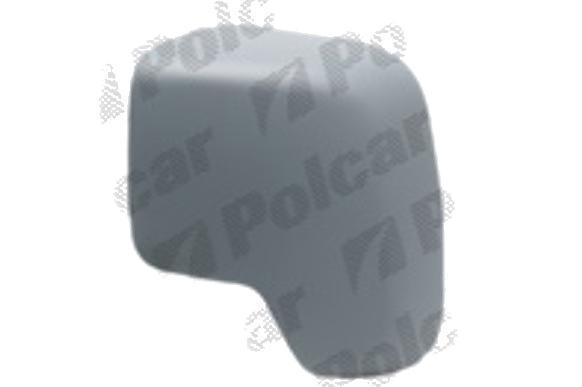 Carcasa oglinda exterioara Citroen Nemo (Aa), Fiat Fiorino, Qubo, Peugeot Bipper, 10.2007-, Stanga, carcasa prevopsita, grunduita, View Max