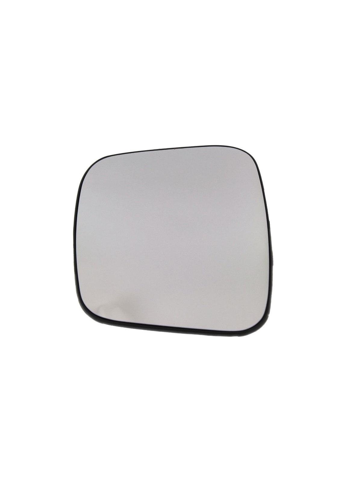 Geam oglinda Citroen Nemo (Aa), 10.2007-, Fiat Fiorino/Qubo, 10.2007-, Fiat Fiorino/Qubo, 10.2007-, Peugeot Bipper, 10.2007-, partea Dreapta, culoare sticla crom, sticla convexa, cu incalzire
