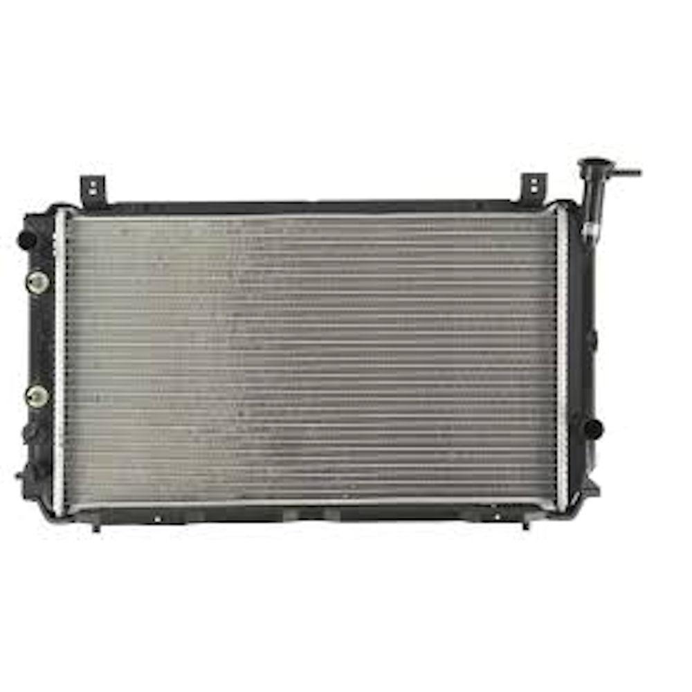 Radiator racire Nissan Sunny (B12/N13), 06.1986-06.1990, Motorizare 1.0 ; 1, 3; 1, 5 ; 1, 6 Benzina, tip climatizare Automat, tip Calsonic, diametru intrare/iesire 28/28mm, dimensiune 590x349x32mm, Cupru/Plastic, KOYO