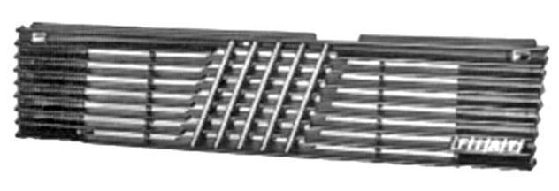 Grila radiator Fiat Duna 1987-12.1990, UNO 08.1983-08.1989 negru