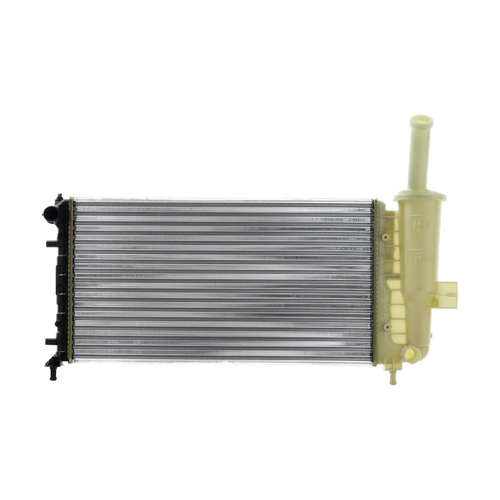 Radiator racire Fiat Punto (188), 01.2003-2010, Motorizare 1, 2 44/59kw Benzina, tip climatizare Manual, Cu/fara AC, dimensiune 580x316x18mm, Cu lipire fagure mecanica, DENSO