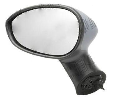 Oglinda exterioara Fiat Linea (323), 06.2007-, Punto Grande (199) 09.2005-, Punto Evo (199), 09.2009-, Punto (199), 02.2012-, Stanga, Crom, electrica, Fara incalzire, carcasa prevopsita, grunduita, Convex, View Max