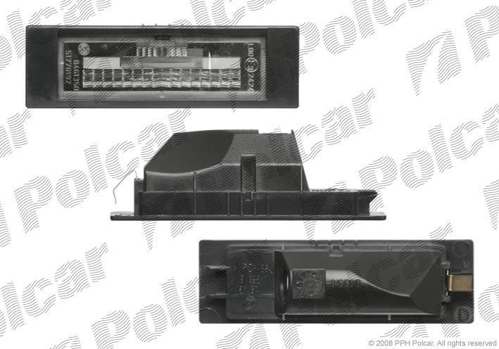 Lampa numar Fiat Croma 05.2005-11.2007 OEM/OES